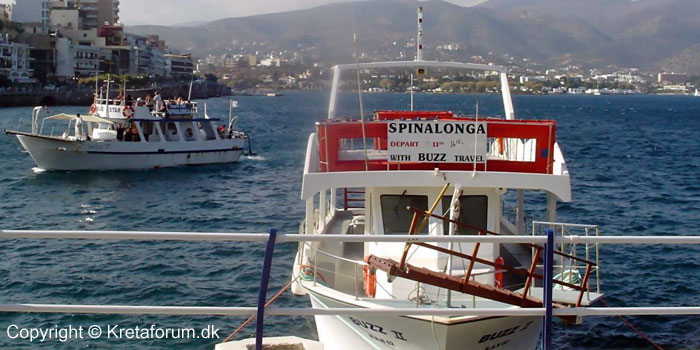 Boat to Spinalonga