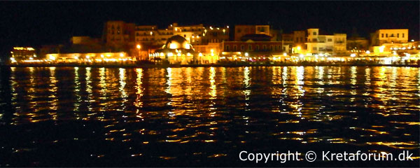 Kreta - Chania night