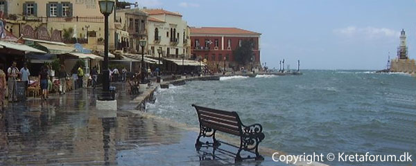 Kreta - Chania harbour