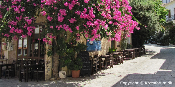 Panormo is a small town east for Rethymno